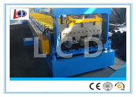 Floor Decking Sheet Metal Forming Machine PLC Control 9 Ton New Condition